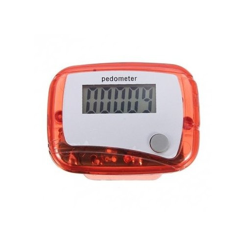 mini digital lcd podómetro ejecutar paso corta distancia con