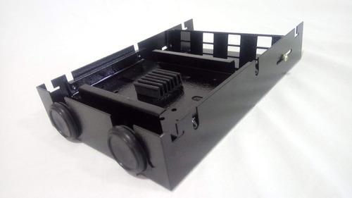mini dio standard preto 12 sc ( mais 01 régua p/16 sc  )