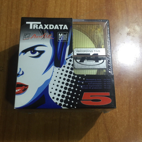 mini disc caja pack de 5