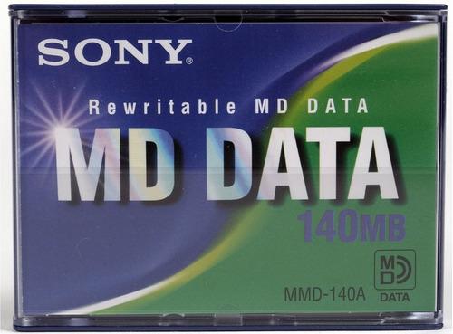 mini disc md data regrabable 140 mb