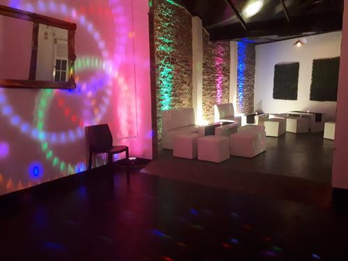 mini disco salon de fiestas teen - caballito, villa crespo