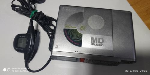 mini disk japones sony mz r37,con control digital