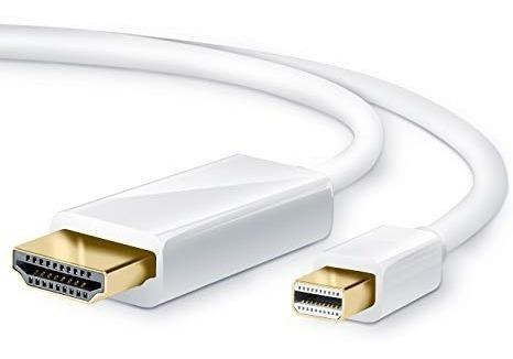 mini displayport a hdmi de 3 metros apple mac / display port