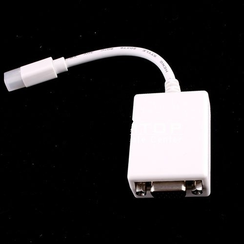 mini displayport a vga adaptador para apple macbook pro
