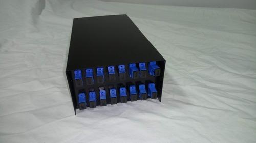 mini distribuidor óptico compacto 16fo sc completo