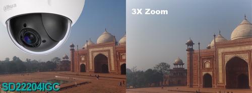 mini domo ptz dahua sd22204igc 1080p zoom 4x 300 presets