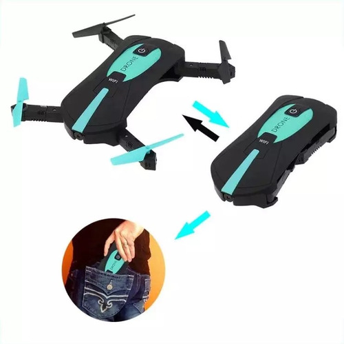 mini dron portable, plegable, ideal para recreo del niño