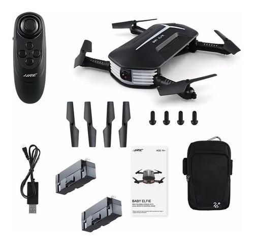 mini drone baby elfie h37 jjrc 2 baterias