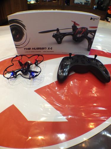 mini drone hubsan x4 c/ camera