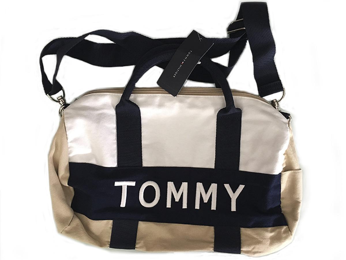 3cf29cc69e853 Mini Duffle Bag Tommy Hilfiger Bolsa Pequena - R  169,99 em Mercado ...