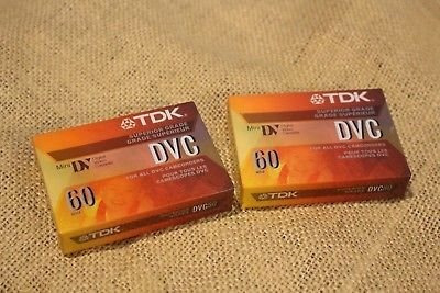 mini dv cassette tdk    made in japan
