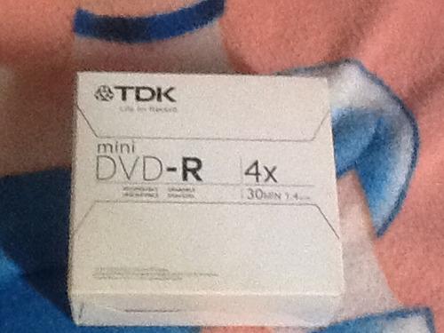 mini dvd-r tdk 4x 30 min