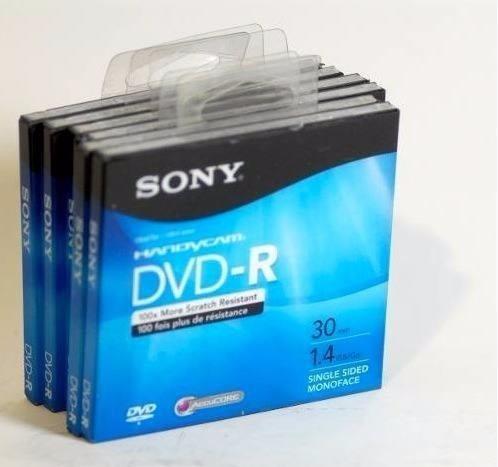 mini dvd-r y rw handycam 1.4 g/30 min video gamecube