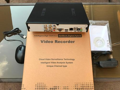mini dvr 4 camaras tecnologia p2p generico p/hd y analogas
