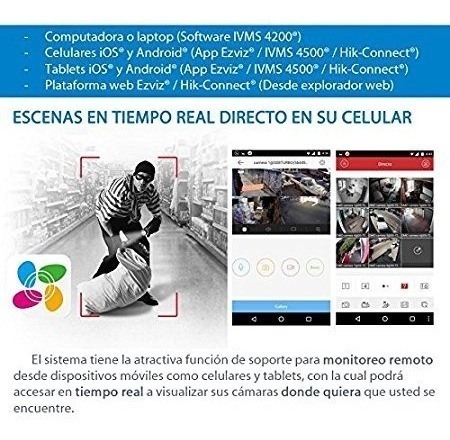 mini dvr hikvision 720 hd 4 canales series 7100