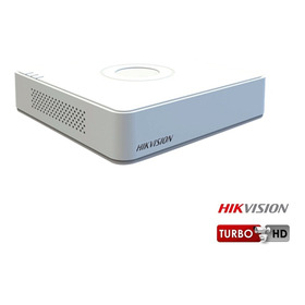 Mini Dvr Hikvision 8 Canales Hibrido Turbo Hd  Ds7108hghif1