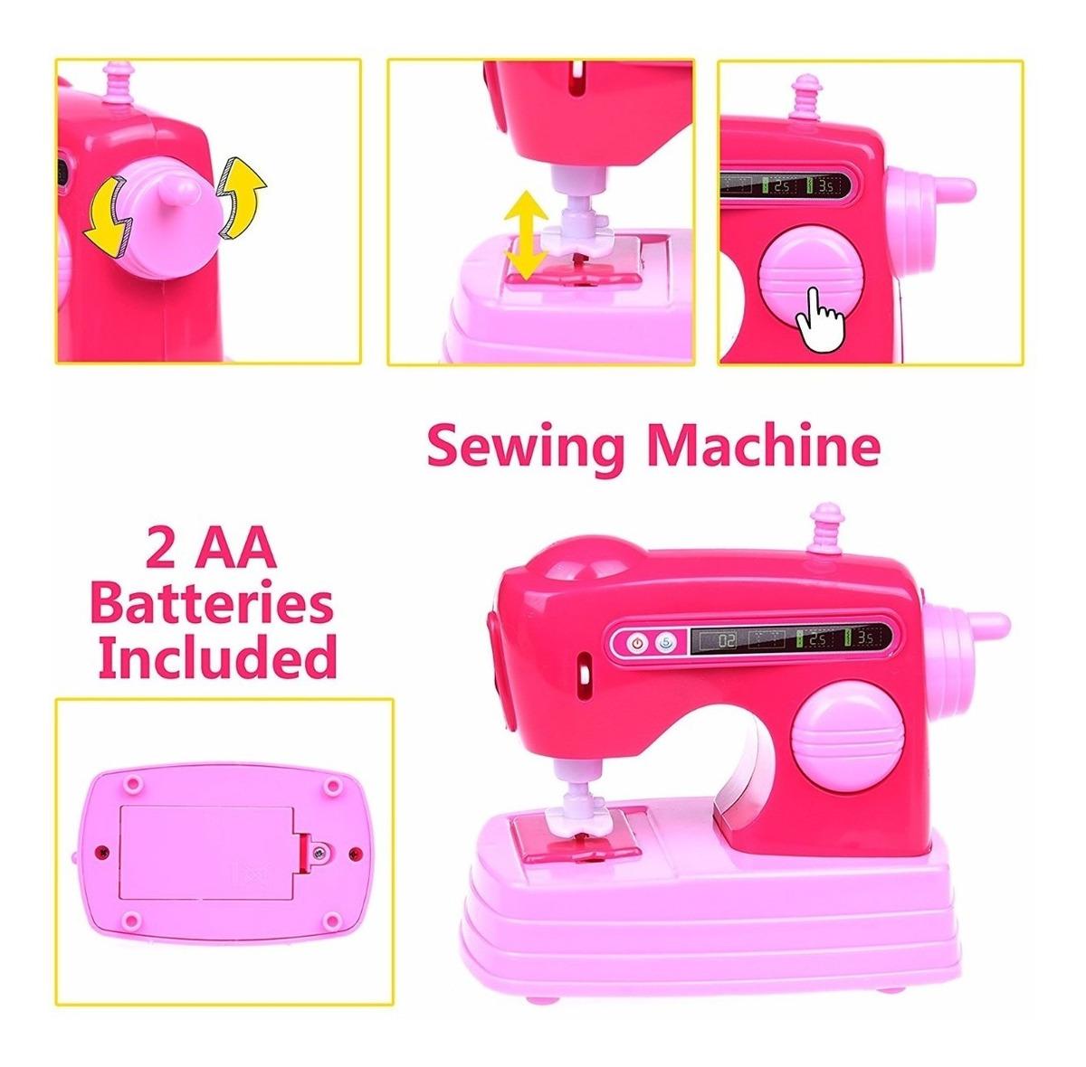 Hogar 6 Del Piezas Niñas Juguete Mini Electrodomésticos Para BdCoex