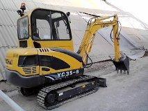 mini escavadeira