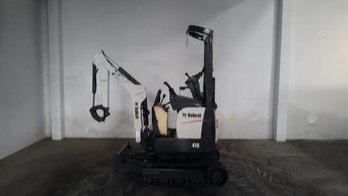 mini escavadeira bobcat 418 ano 2015 com 790.4h