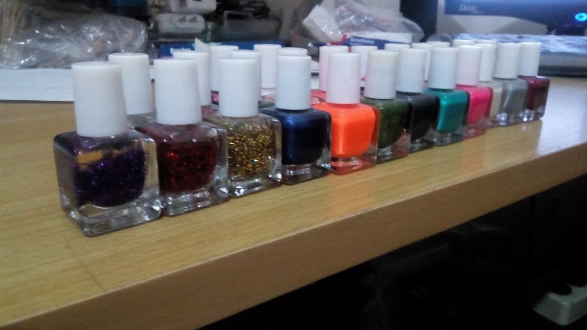 Mini Esmalte De Uñas De 5ml Varios Colores - $ 10.00 en Mercado Libre