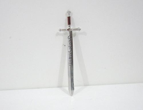 mini espada game of thrones got - jon snow - pronta entrega