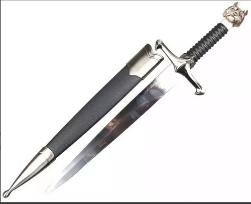 mini espada game of thrones jon snow lobo