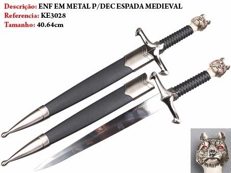 mini espada longclaw jon snow bainha 34cm