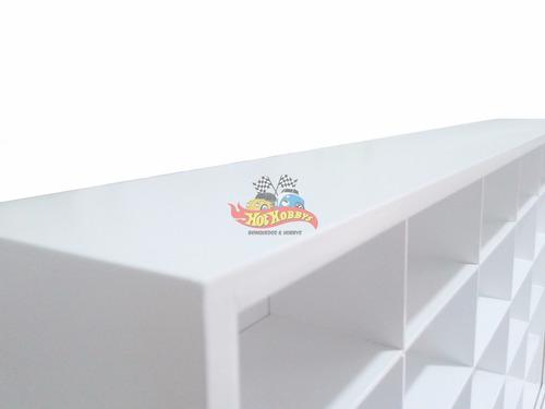 mini estante classicos inesquecíveis 1:43 / 25 nichos / moto