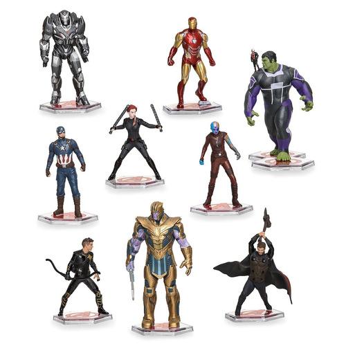 mini estátua boneco guerra infinita vingadores infinity war