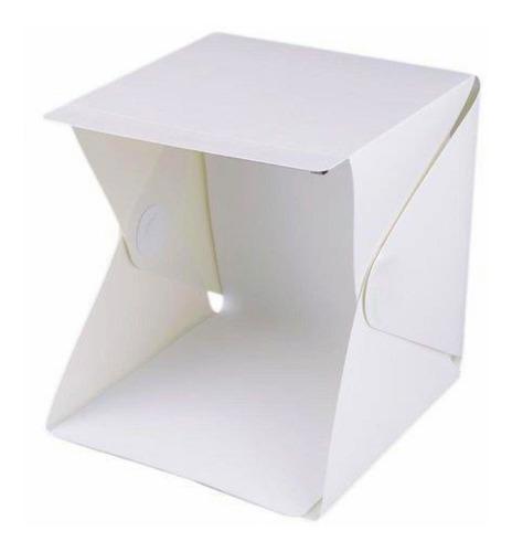 mini estúdio com led , caixa para foto.