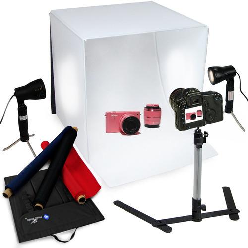 mini estudio fotografico, fotobox, caja de luz, estudio foto