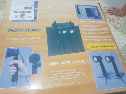 mini estúdio para fotografia.