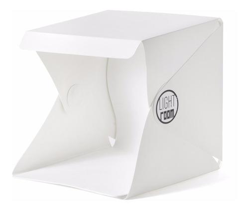 mini estudio portatil ligth room dobrável com luz embutida