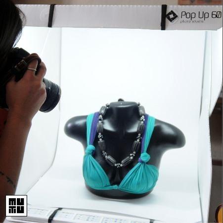 mini estúdio portátil mutu pop up 60 - c/ 7 cores de fundo -