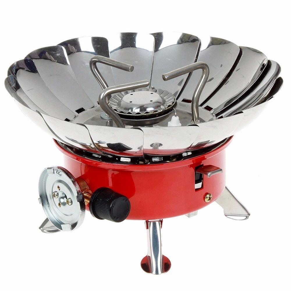 Mini estufa fogon cocina portatil camping incluye pipeta - Estufa camping gas ...