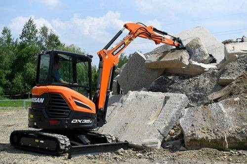 mini excavadora doosan dx35