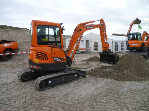 mini excavadora doosan nueva dx35