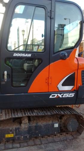 mini excavadora doosan nueva dx55