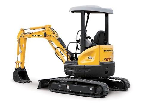 mini excavadora new holland e27b financiada hasta 48 meses
