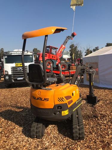 mini excavadora taurus - xn16  (13.5 hp)