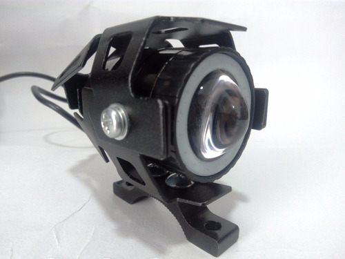 mini exploradora u7 moto carro led 3000 lumenes ojo de angel
