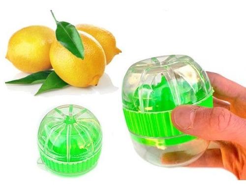 mini exprimidor estrujador limones copa receptora bakanisimo