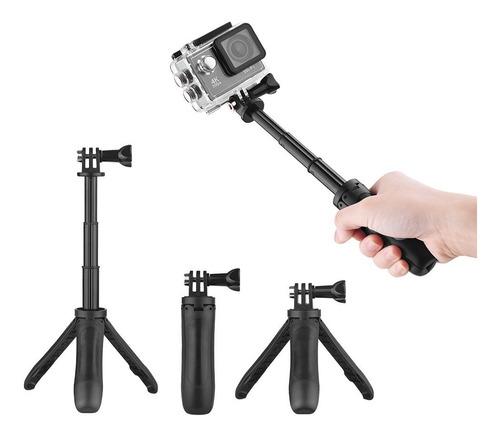 mini extens?o selfie vara trip stand aperto de m?o para