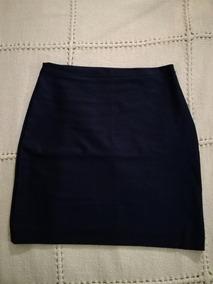 f6d848384 Mini Falda Azul Oscuro