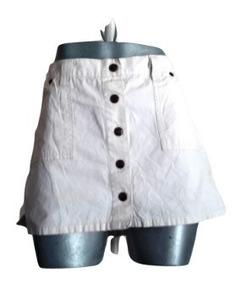 9d03ed21f Mini Falda Dama Botones Al Frente Abercrombie & Fitch T 4