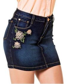 45f3f2487 Mini-falda Dama Rev Mezclilla Mezclilla 7-9 76958 T3