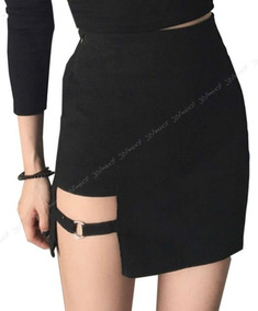 0f0efdd07 Short Pantalon Negro Mini Falda Dark Gotico Heavy Emo Punk - Ropa y ...
