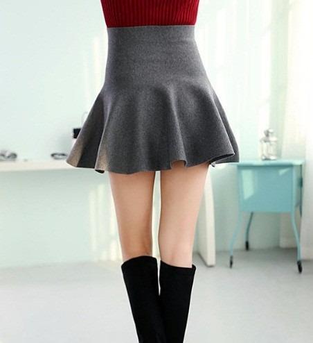 mini falda talla unica