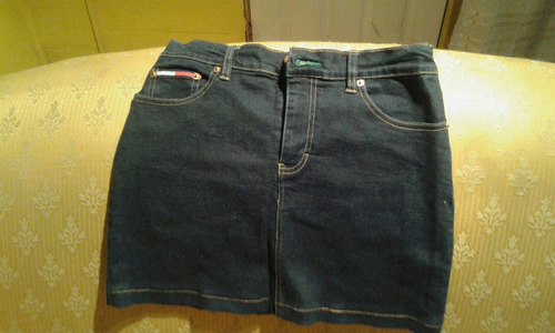mini falda tommy hilfiger, talla 38 impecable y original