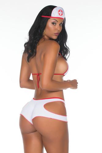 mini fantasia médica hot pimenta sexy sensual erótica linda